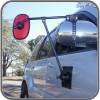 ORA Big Red Magnetic Door Towing Mirror - Single