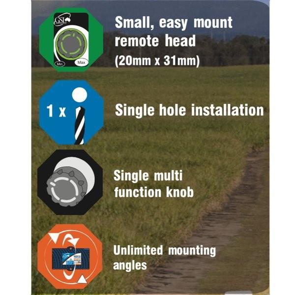 GSL RBC-12-NG: 12V Solid State Brake Controller - Remote Mount