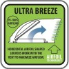Ultra Breeze provides 95-100% airflow