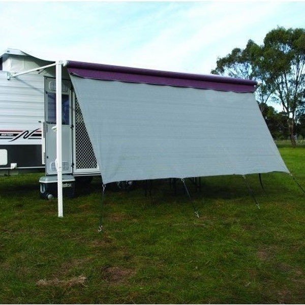Camec Long Wall Screen, 90% Shade, 3.4m, Suit 3.5m Awning
