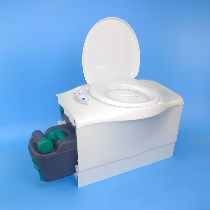 caravansplus thetford cassette toilet c402 c flush tank. Black Bedroom Furniture Sets. Home Design Ideas