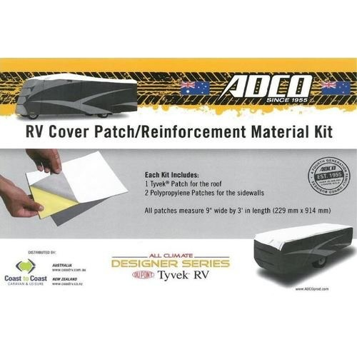 CaravansPlus | Adco Caravan & RV Cover Repair Kit - 3 Patches