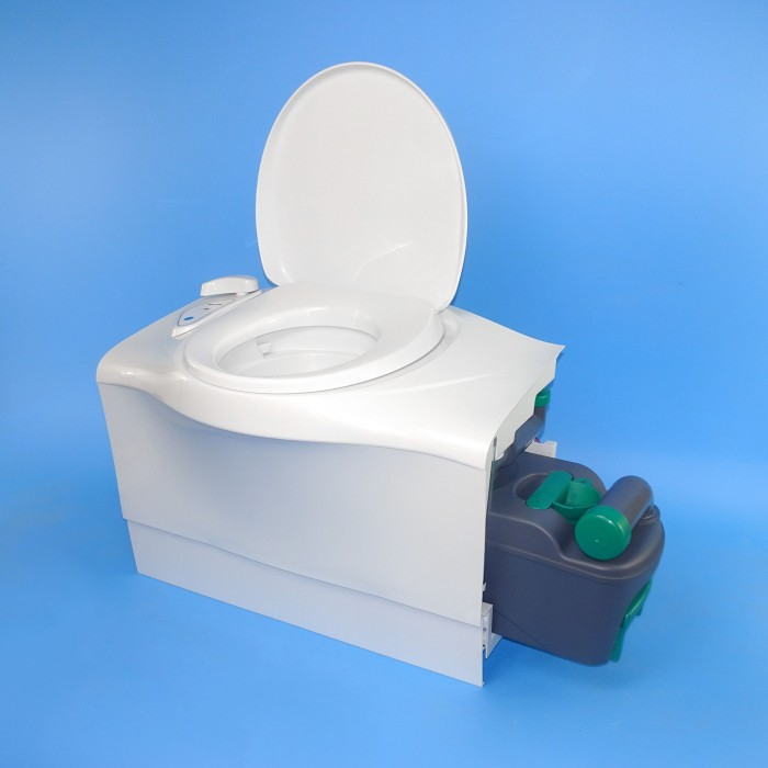 Thetford Cassette Toilet C402-C - Flush Tank / Left Entry