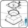 00-01100K: Handheld Remote (White) - Suit MaxxFan Vents
