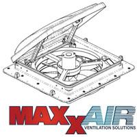 Spare Parts Diagram - MaxxFan 4000KI Roof Vent