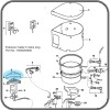 70000-98200: Lid Electronic Housing - Suit Truma B14 Hot Water System