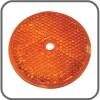 Coast Round Reflector Screw On - 57mm - Amber