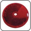 Coast Round Reflector Screw On - 57mm - Red