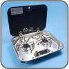 Dometic / Smev PI8022 - 2 Burner Hob With Lid. 480w-370d